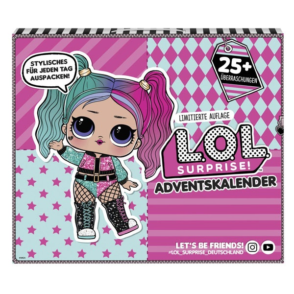 L.O.L. Surprise Outfit of the Day, Adventskalender 2020