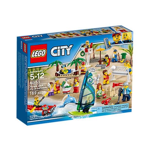Lego City 60153 Stadtbewohner Ein Tag am Strand
