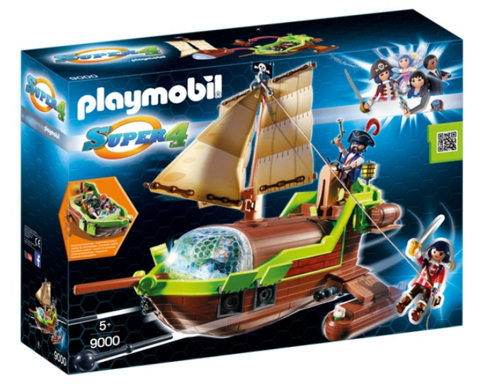 Playmobil 9000 Super4 Piraten-Chamäleon mit Ruby