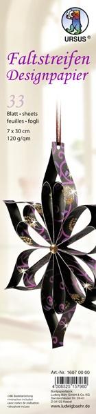 Faltstreifen Designpapier  Indian Style Shiva