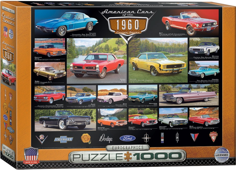 Puzzle American Cars 1960er 1000 Teile