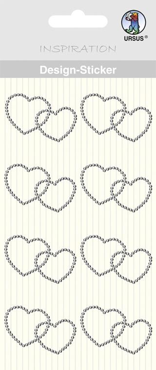Design-Sticker Motiv 43  Herzen