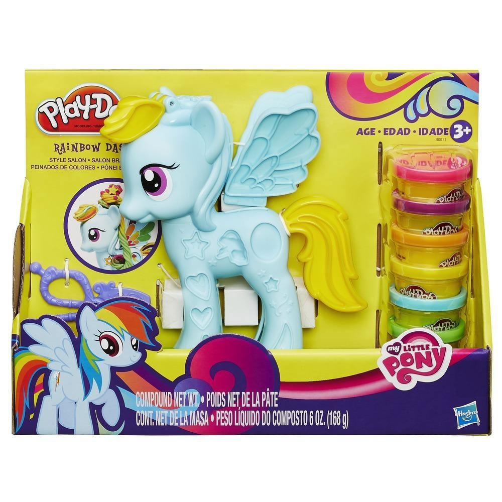 Play Doh My little Pony Mähnenspaß Rainbow Dash