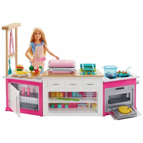 Barbie Deluxe Küche und Puppe