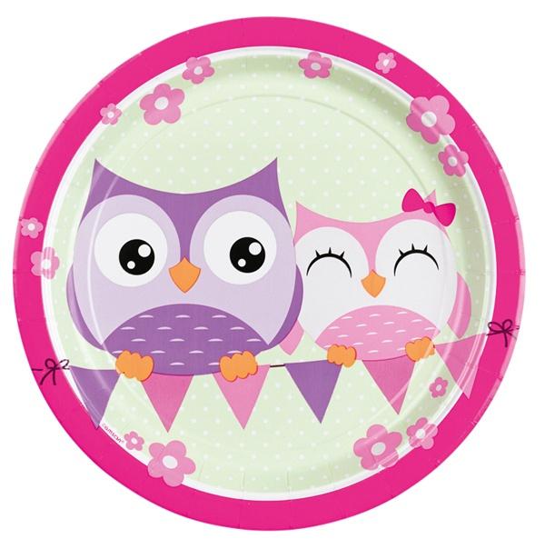 Partyteller Happy Owl Eule