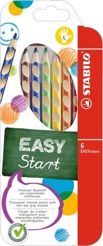 Stabilo EASYcolors Farbstifte für Linkshänder 6 Stück