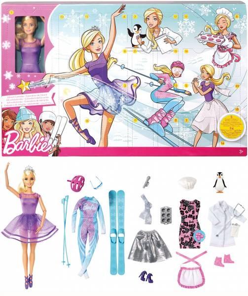 Mattel Adventskalender Barbie FTF92