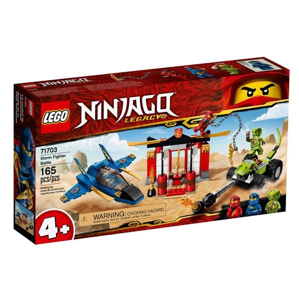 Lego Ninjago 71703 Kräftemessen mit dem Donner-Jet