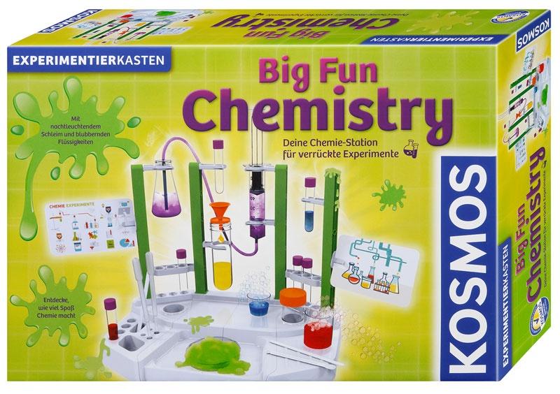 Big Fun Chemistry Chemielabor Experimentierkasten von Kosmos