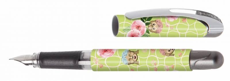 Online Füllhalter College II Cute Roses Feder M