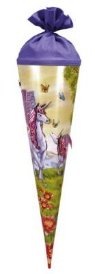 Roth Schultüte Unicorn 3D Glitter 70 cm