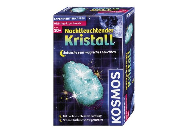 Kosmos Experimentierkasten Nachtleuchtender Kristall
