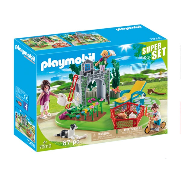 Playmobil 70010 Country Superset Familiengarten