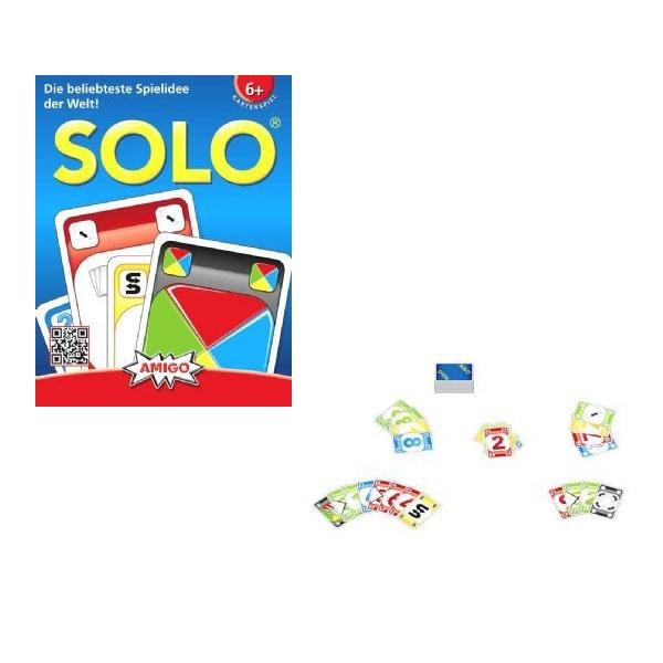 Solo Kartenspiel von Amigo