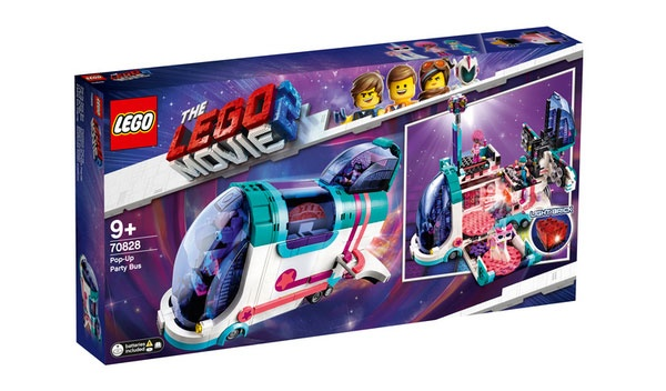 Lego Movie 2 70828 Pop-Up-Party-Bus