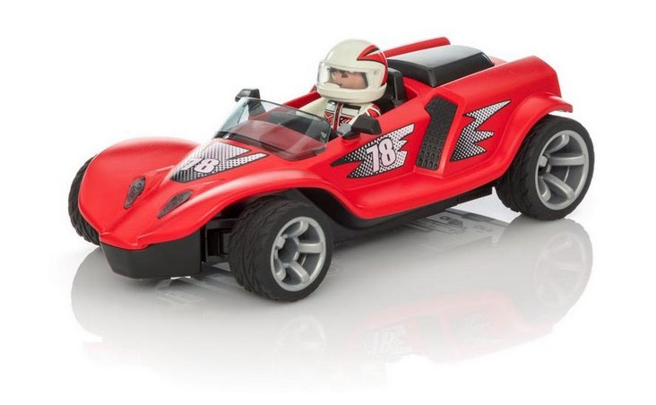 Playmobil Action 9090 RC-Rocket-Racer rot