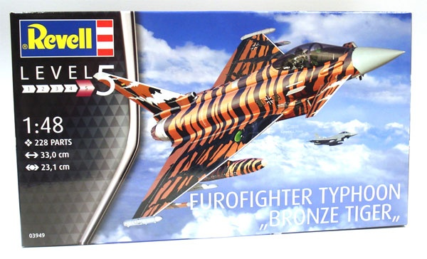 Revell 03949 Eurofighter Typhoon Bronze Tiger 1:48