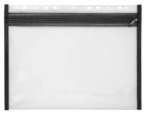 Veloflex Reissverschlusstasche Velobag XS schwarz