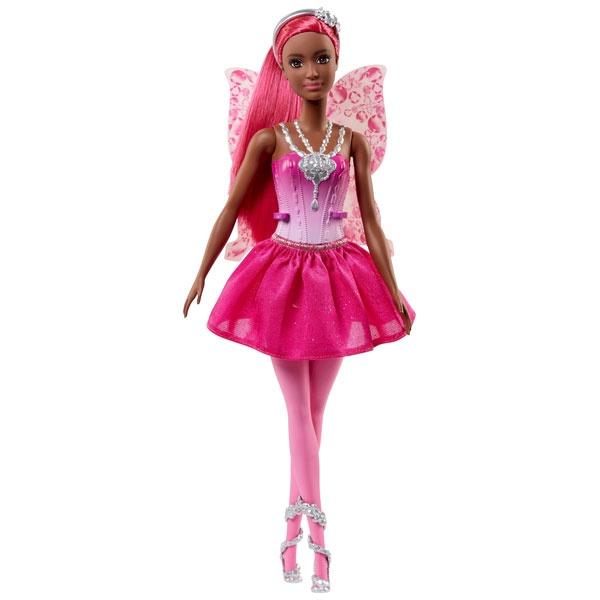 Barbie Dreamtopia Fee-Puppe BonBon dunkle Haut FJC86
