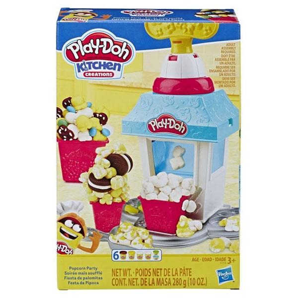 Play-Doh Popcornmaschine mit 6 Dosen von Hasbro