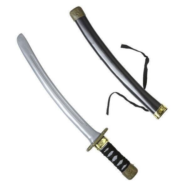 Kostüm-Zubehör Ninjaschwert mit Scheide 40cm