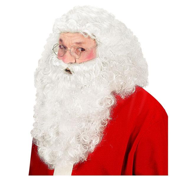 Kostüm-Zubehör Weihnachtsmannbart Nikolausbart