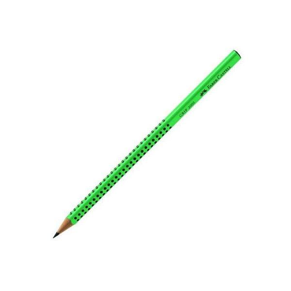 Faber Castell Bleistift Grip B grün