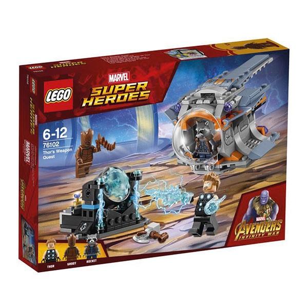 Lego Super Heroes 76102 Thors Stormbreaker Axt