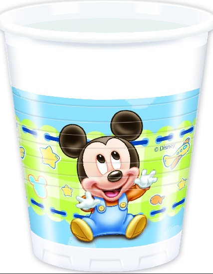 Disney Baby Mickey Partybecher 200 ml