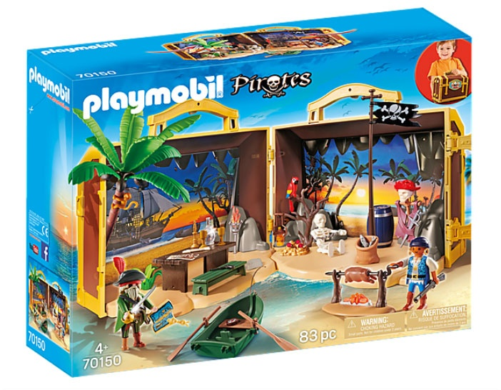 Playmobil 70150 Pirates Mitnehm-Pirateninsel