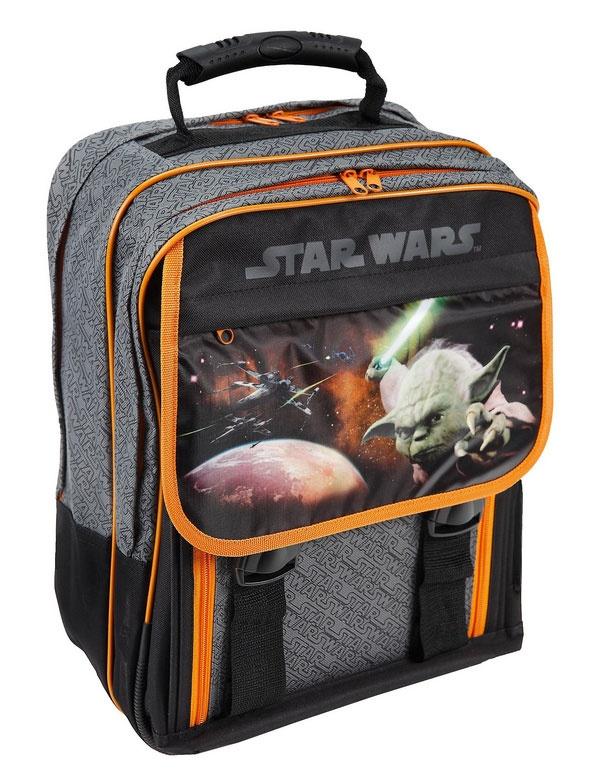 Star Wars Schulrucksack Motiv Yoda