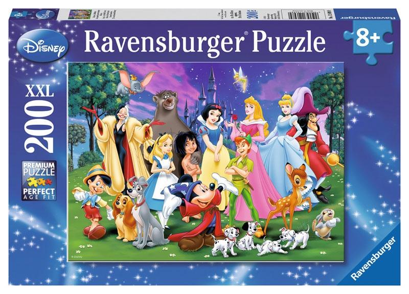 Ravensburger Puzzle Disney Lieblinge XXL 200 Teile