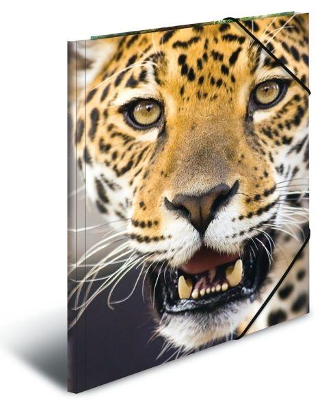 Herma Sammelmappe A3  Leopard