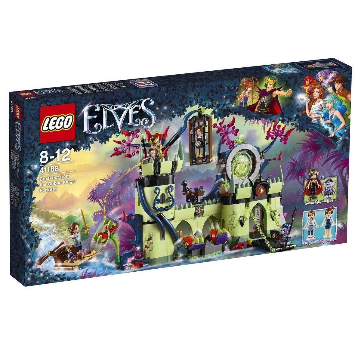 Lego Elves 41188 Ausbruch aus der Festung des Kobold-Königs