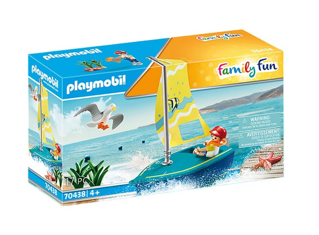 Playmobil 70438 Family Fun Segeljolle