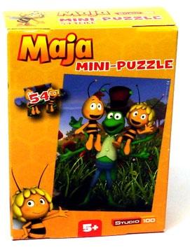 Biene Maja Mini-Puzzle 54 Teile Motiv Freunde