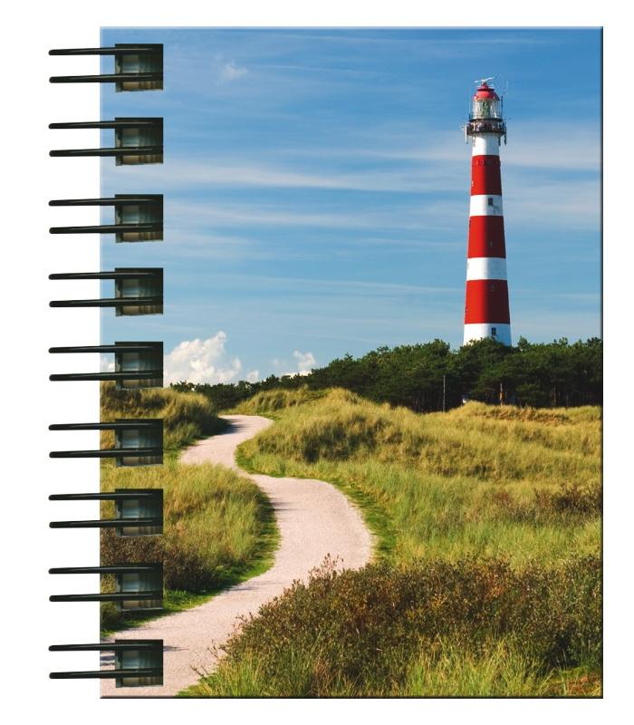 Hardcover-Spiralbuch A7 Leuchtturm
