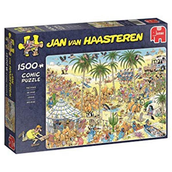 Puzzle Jan van Haasteren Die Oase 1500 Teile