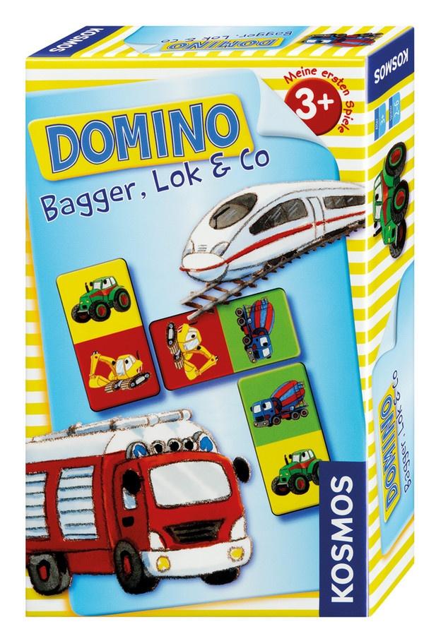 Domino Bagger, Lok & Co. von Kosmos