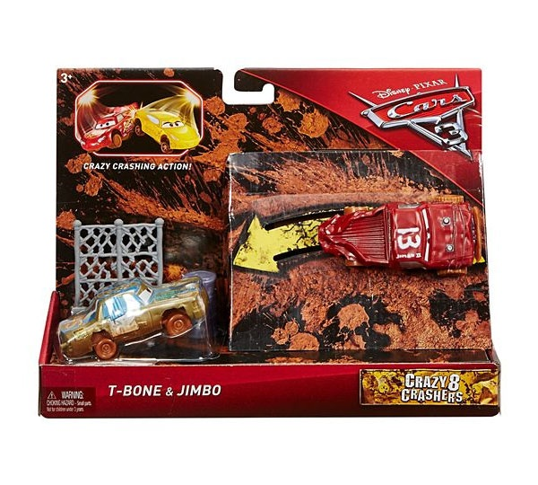 Cars3 Crazy 8 Crashers T-Bone & Jimbo