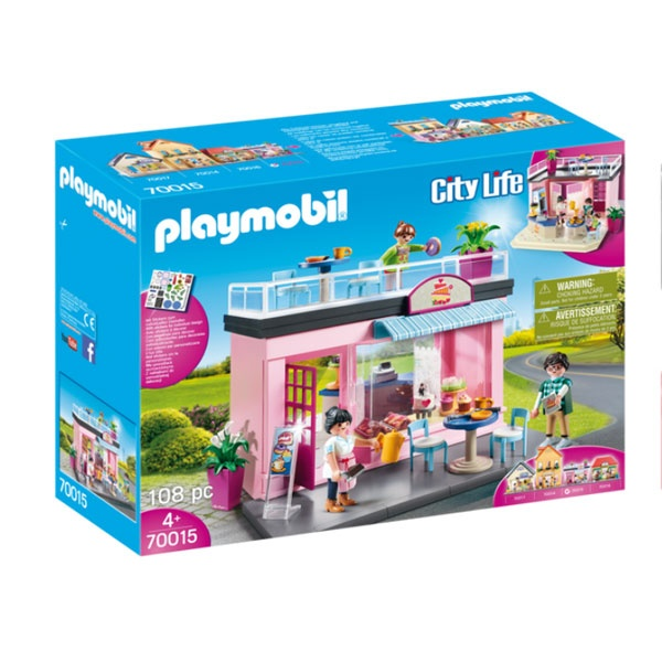 Playmobil 70015 City Life Mein Lieblingscafe