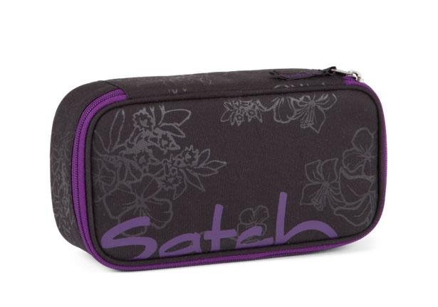 Ergobag Satch Zubehör Schlamperbox Purple Hibiskus