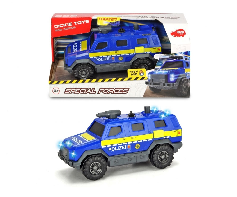 Special Forces Polizei SWAT Auto