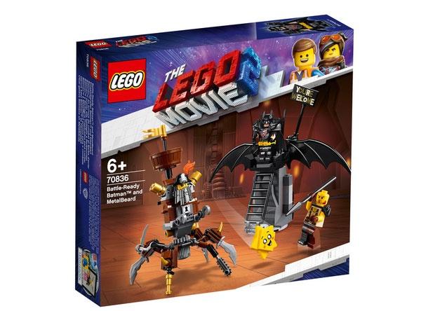 Lego Movie 2 70836 Einsatzbereiter Batman und EisenBart