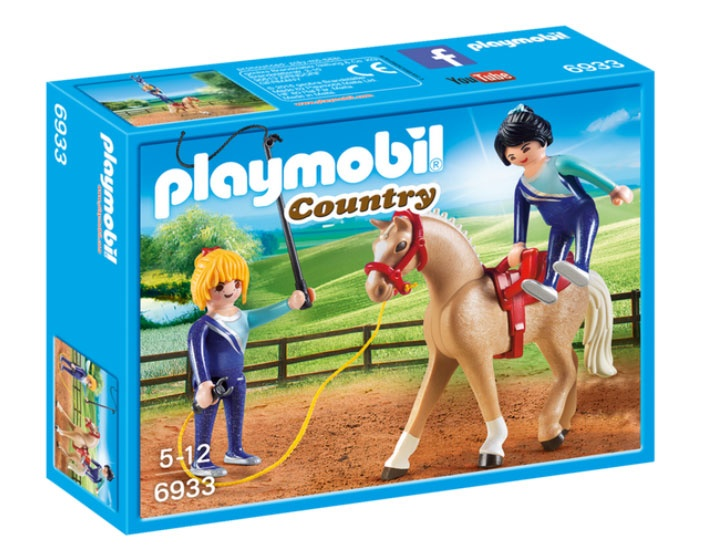 Playmobil 6933 Country Voltigier-Training