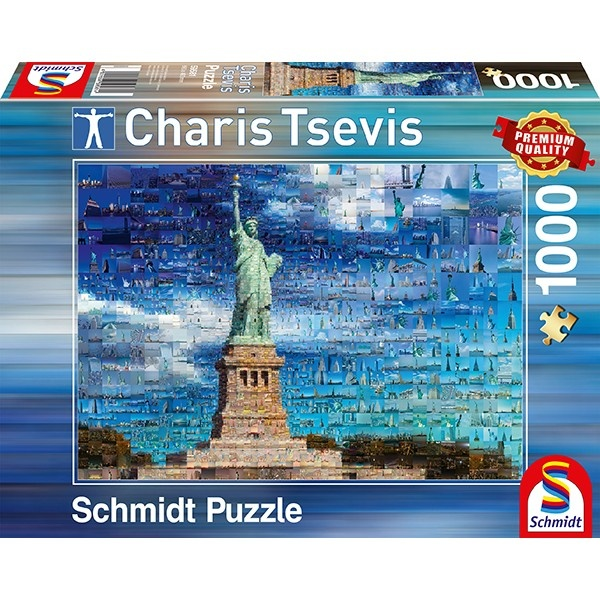 Schmidt Spiele Puzzle Charis Tsevis New York 1000 Teile