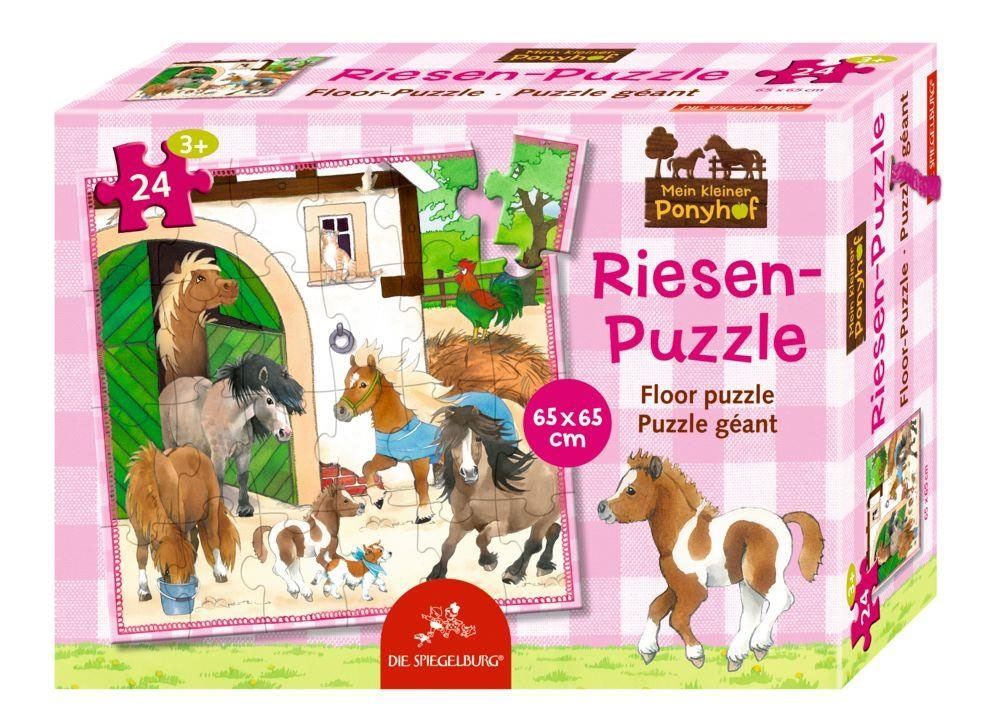 Mein kleiner Ponyhof Riesenpuzzle 24 Teile