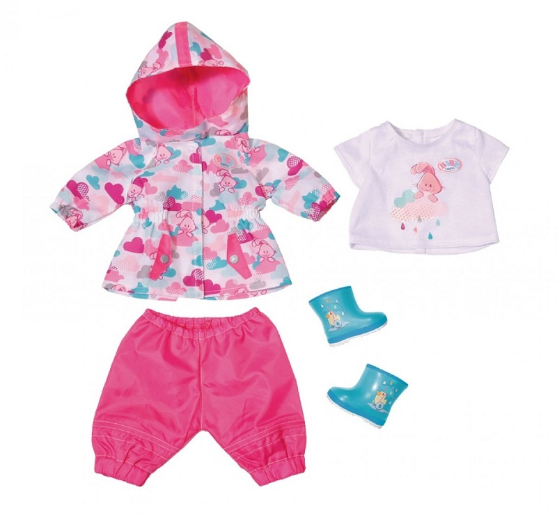 Zapf Creation Baby born Deluxe Regenspaß Outfit