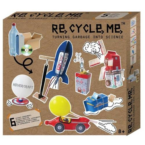 Re-Cycle-Me Bastelbox Experimente