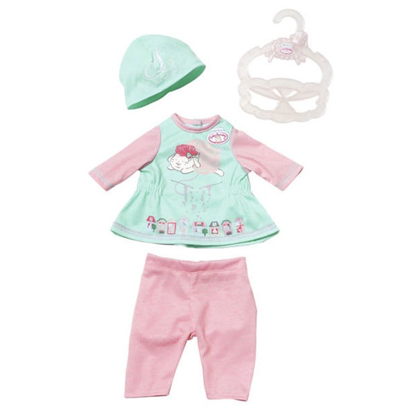 My First Baby Annabell Baby Outfit, grüne Mütze
